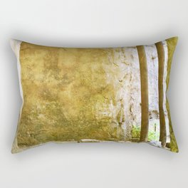 Smoking Pit Ruin Rectangular Pillow
