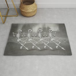 Dancing skeletons I Rug