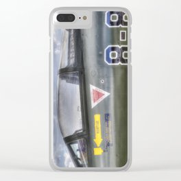 Turkish Air Force F104G Starfighter Clear iPhone Case