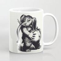 ganesha Mugs featuring Ganesha by MAZUR
