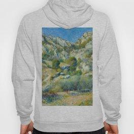 """Auguste Renoir """"Rocky Crags at L'Estaque"""" Hoody"""