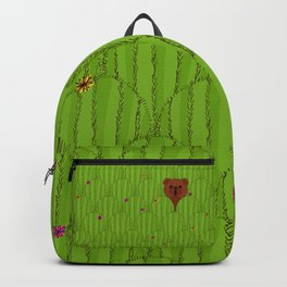 In The Prickly Bush Backpack