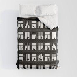 Feline Towers Comforters