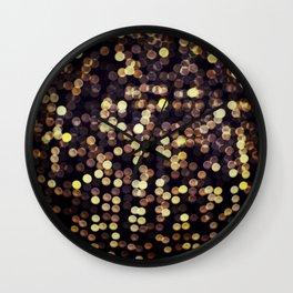 goldgasm Wall Clock