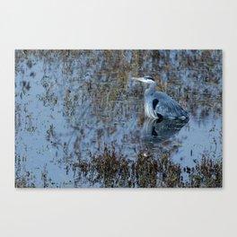 Blue Meditation Canvas Print