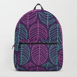 Leaf outlines Backpack