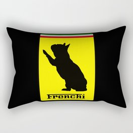 French Bulldog Ferrari  Rectangular Pillow