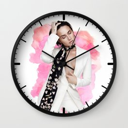 Demi #3 Wall Clock