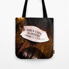 Success is a Journey Tote Bag