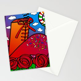 Almost teenage girl Stationery Cards