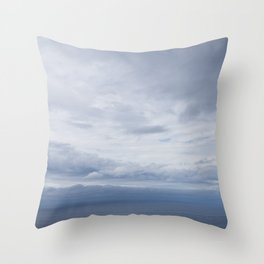 Lonely Stone Throw Pillow