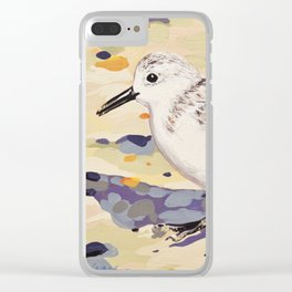 Sanderling Clear iPhone Case