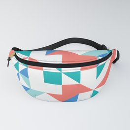 Angled Reflected Artwork Fanny Pack