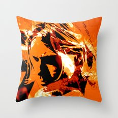 It´s better to burn out... Throw Pillow