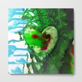 Eternal Heart No. 13H by Kathy Morton Stanion Metal Print