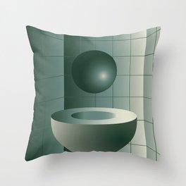 Shape study #5 - Memphis Collection Throw Pillow