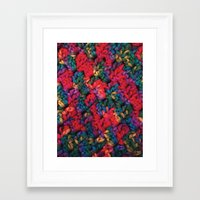 knit Framed Art Prints featuring Knit by kirstenariel