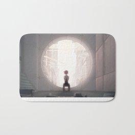 leveL - A White Sphere of Air Bath Mat