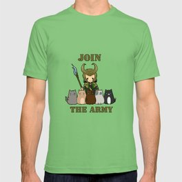 Cat Army T-shirt