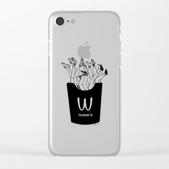 I'm Livin'it Clear iPhone Case