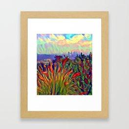 L.A. Vista Framed Art Print