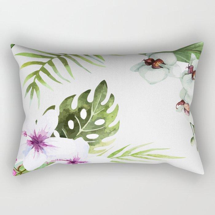 Tropical Serenity #society6 Rectangular Pillow