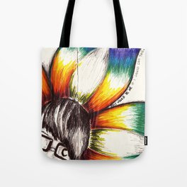"""""""This Would Be Me If I Looked Like This"""" Flowerkid Tote Bag"""