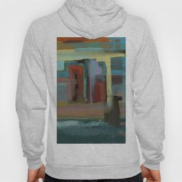 Abstract City, Southwestern Colors Hoody