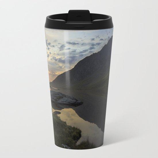 Tryfan Sunrise Metal Travel Mug