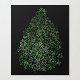 Fantasy Tree Greenery Canvas Print