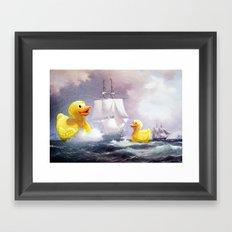 Terror on the High Seas II Framed Art Print