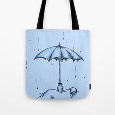 Rain Rain Go Away! Tote Bag