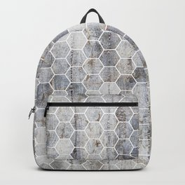 Hexagons - Concrete Backpack