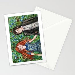 Lily and Severus Stationery Cards