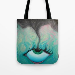 Starry-Eyed Tote Bag