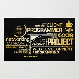 Typography programming Rug