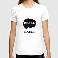 destiel T-shirts featuring Destiel - TFIOS by downeymore