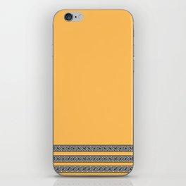 Greek Yellow Pattern iPhone Skin
