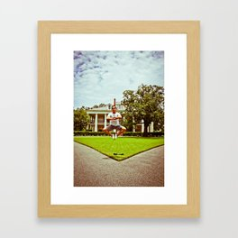 Levetation Framed Art Print