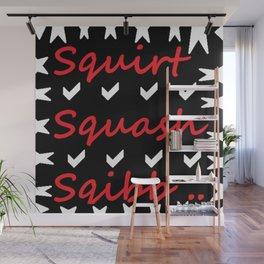 Squirt Squash Sqibb Wall Mural