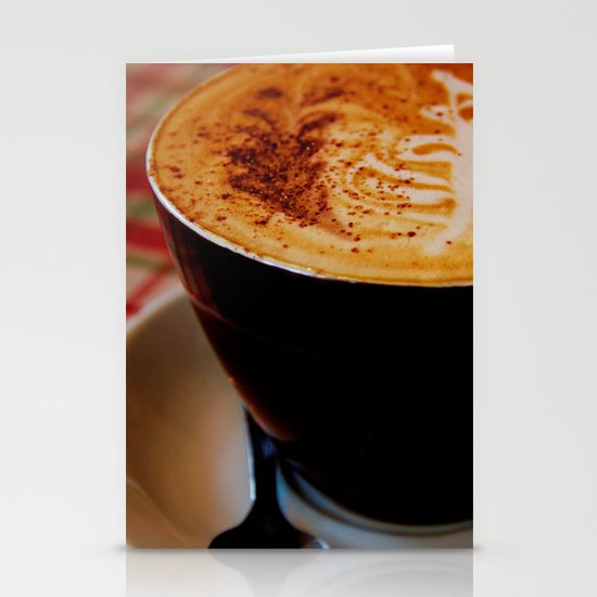 Loving My Latte Stationery Cards