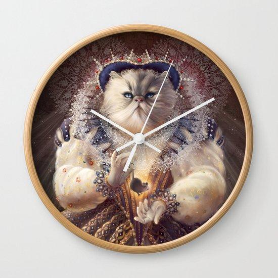 Cat Queen Wall Clock