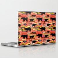 rhino Laptop & iPad Skins featuring Rhino by misslin