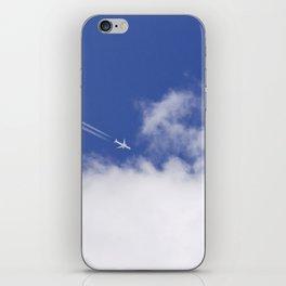 Flying Airplane iPhone Skin