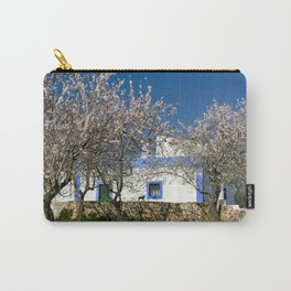 An almond tree cottage Carry-All Pouch