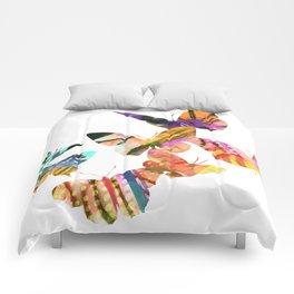 Butterfly Swarm Comforters