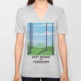 East Riding of Yorkshire Unisex V-Neck