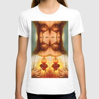 christ T-shirts featuring Lysergic Christ by Saint Lepus