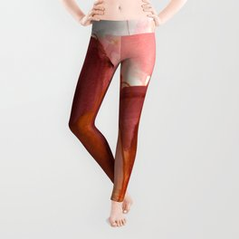 abstract painting X Leggings