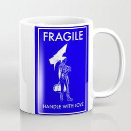 Fragile Blue Coffee Mug